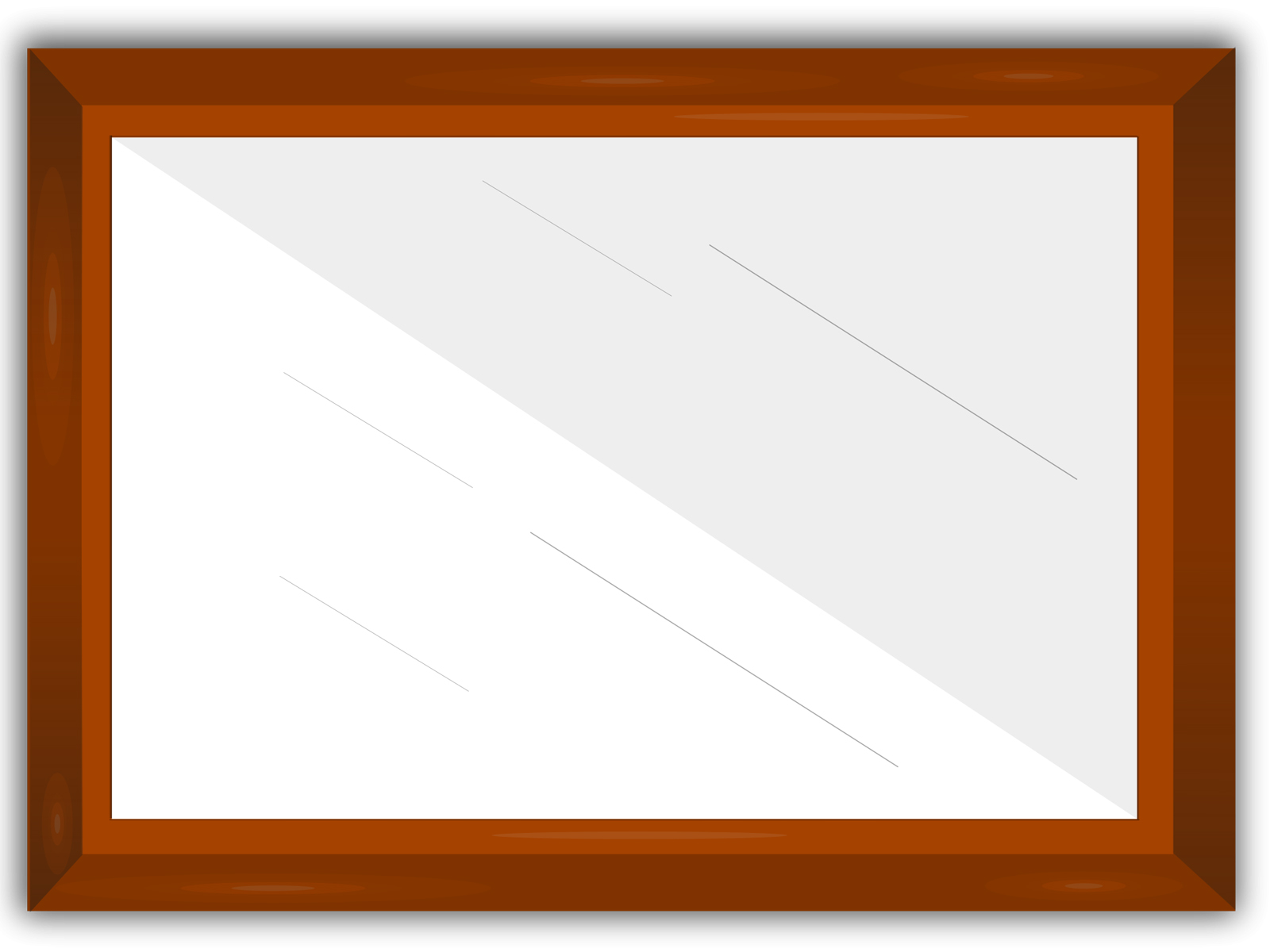 Cool Frame Table Frame Powerpoint Design Ppt Backgrounds Templates
