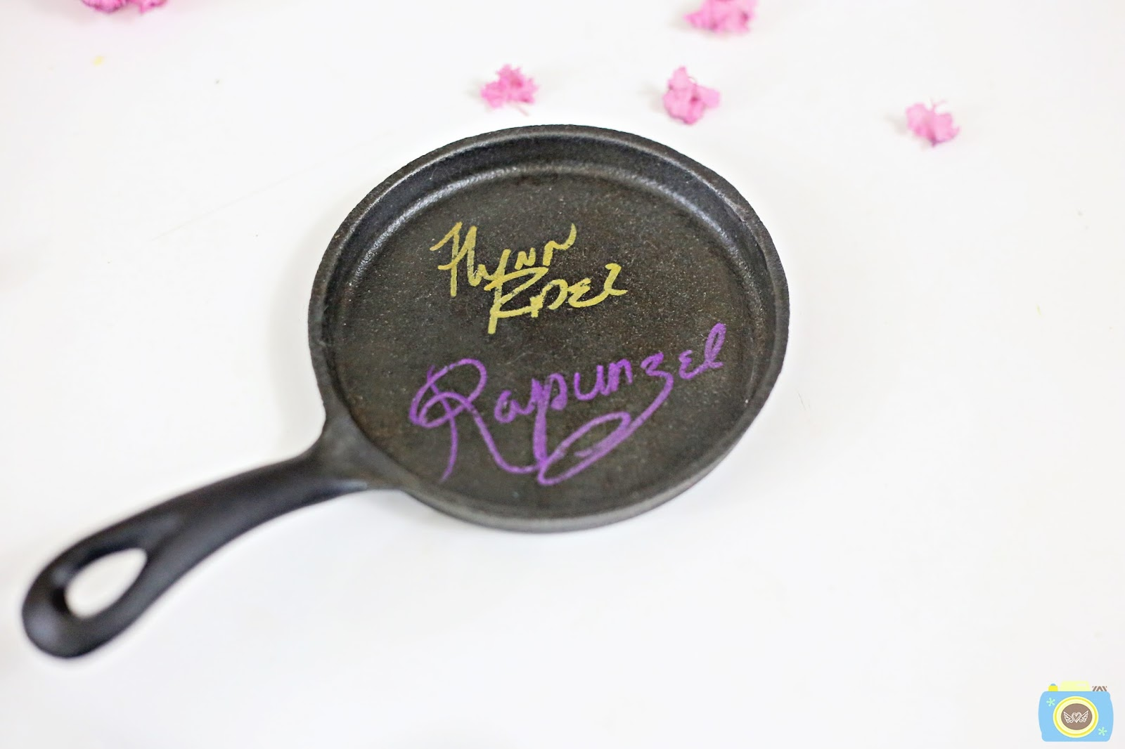 Tips for Getting Rapunzel's Autograph on a Frying Pan