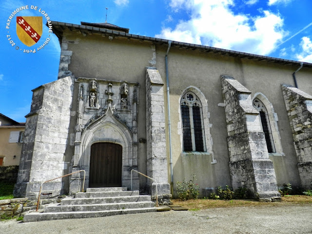 REMOVILLE (88) - Eglise Notre-Dame (XIIe-XVIe siècle)