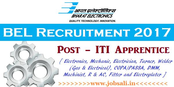 BEL Careers, Govt ITI Jobs, Govt jobs in Karnataka