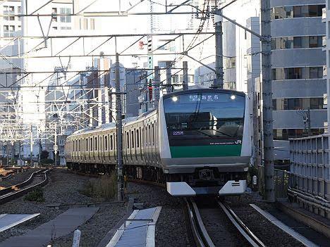 【ダイヤ改正で新設!】E233系の各駅停車 海老名行き