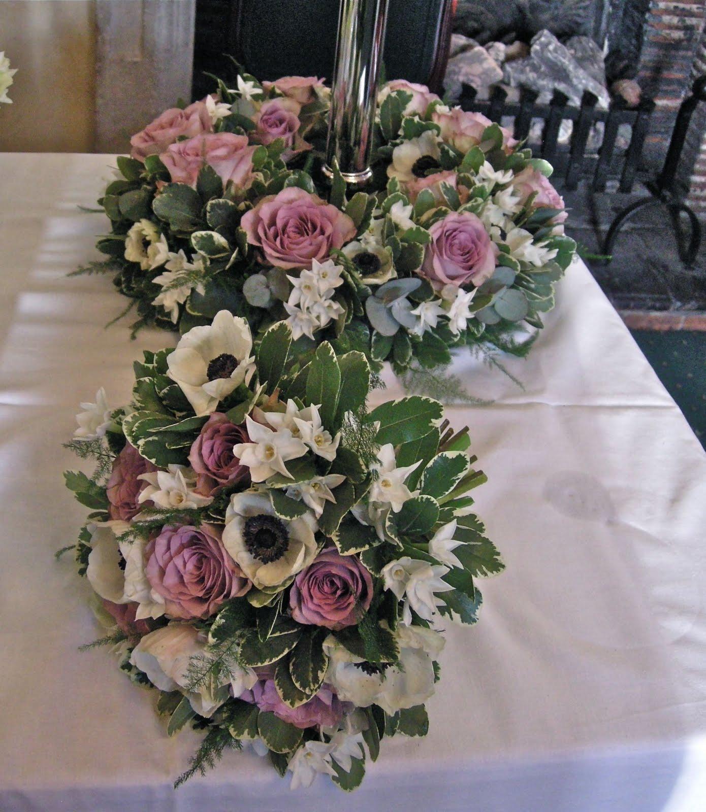 Vintage Flower Arrangements For Wedding: Wedding Flowers Blog: Winter Wedding Flowers