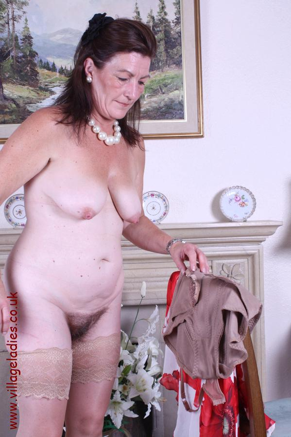 British mature maid and 2 randy men - 3 4
