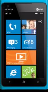 Nokia Lumia 900 phone