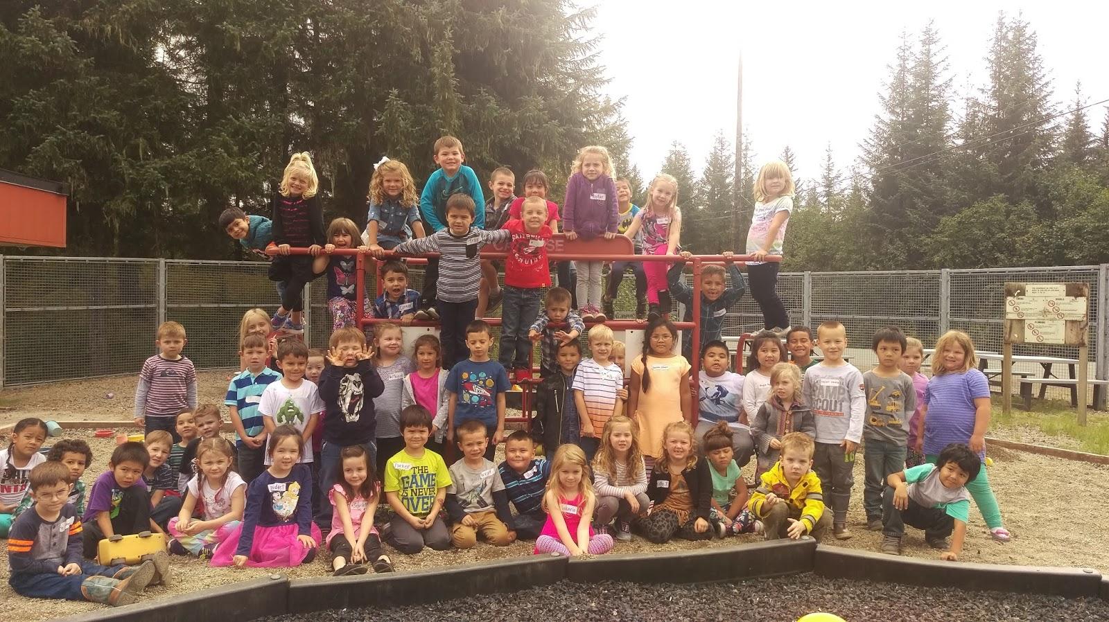 Kinder Eaglets! Soaring into MRCS: First Day of Kindergarten!!!