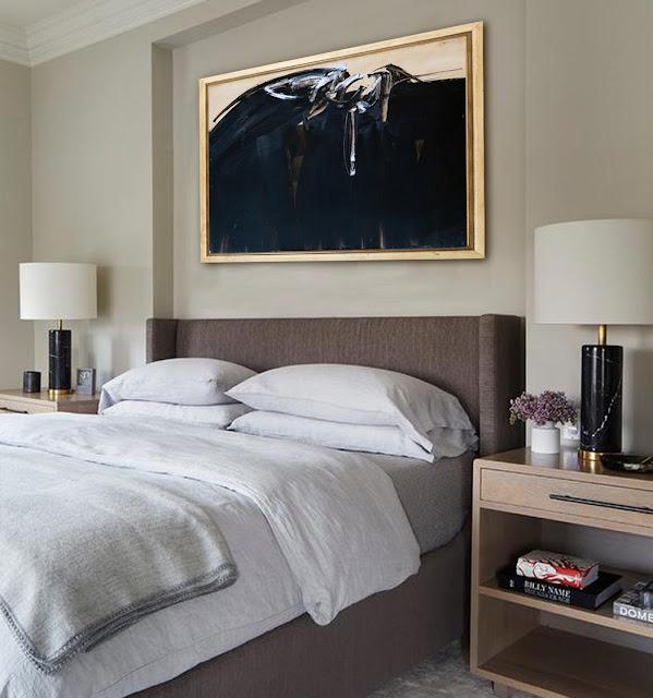 Decoración para dormitorio casa obras de arte