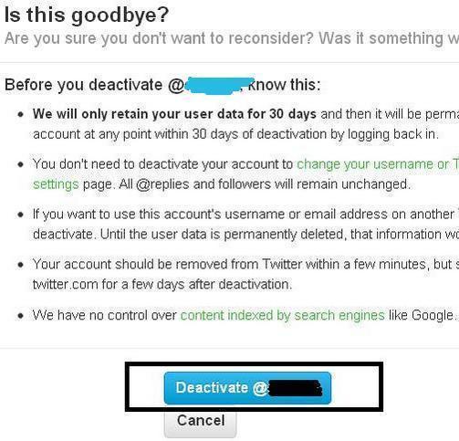 Cara Menghapus Akun Twitter Selamanya