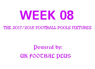 The football pools fixtures