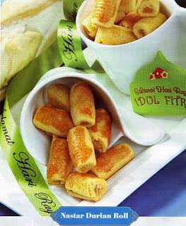 kue nastar durian roll