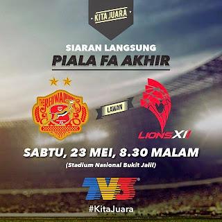 Juara Piala FA Malaysia Dari Tahun 1990 Hingga Kini