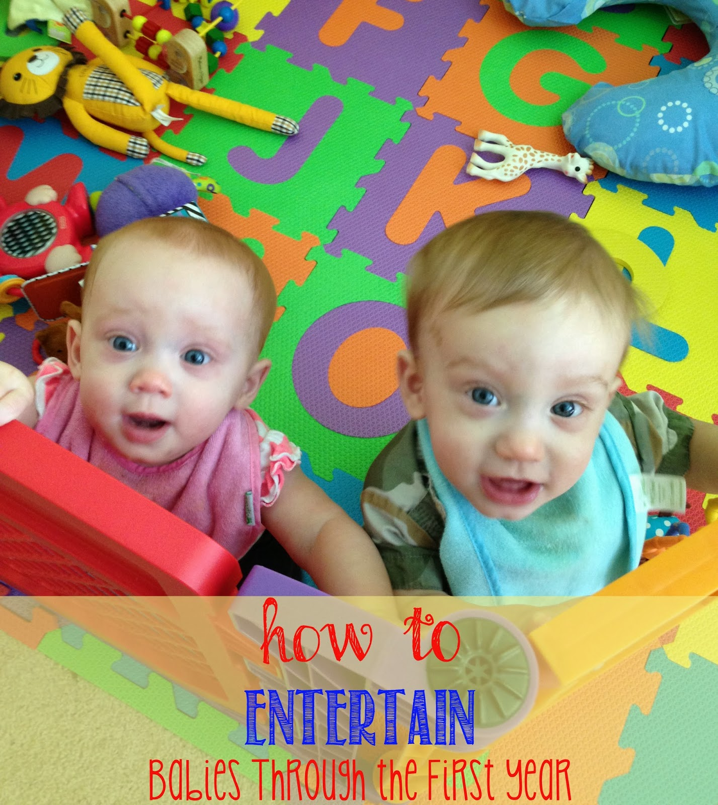 Tips, how to's and toy suggestions for baby's first year! #totschool #earlylearning #homeschool
