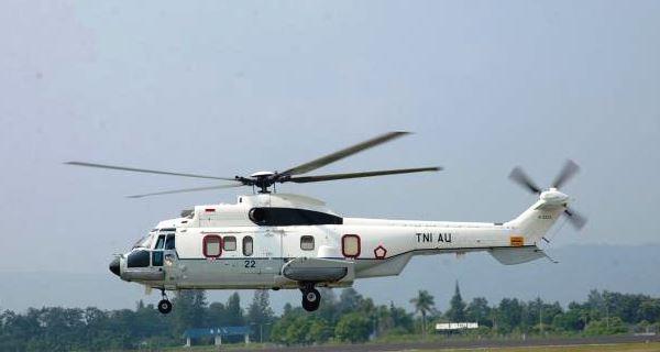 Heli Super Puma TNI AU