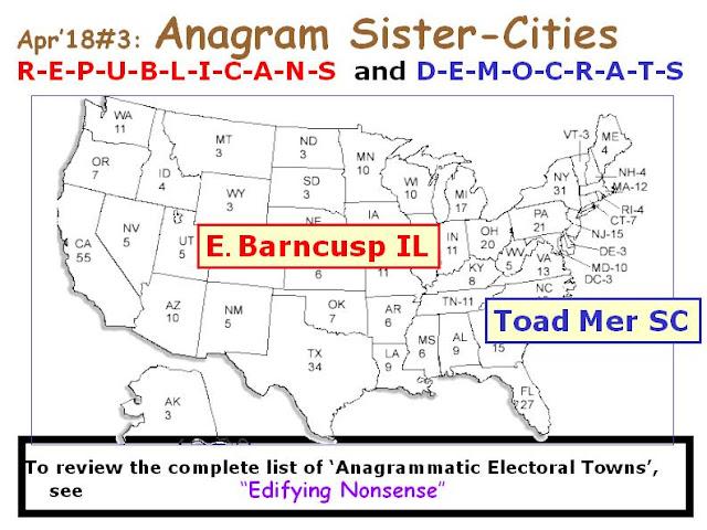 DEMOCRATS: Toad Mer SC.  REPUBLICANS: E. Barncusp IL.