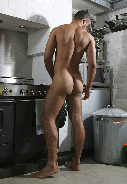 Naked In The Kitchen Porn