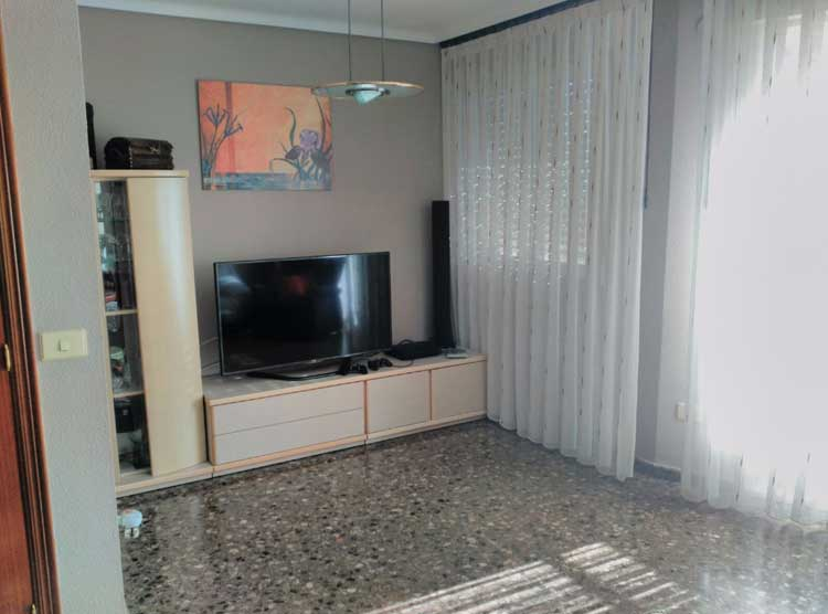 piso en venta calle rio sena castellon salon