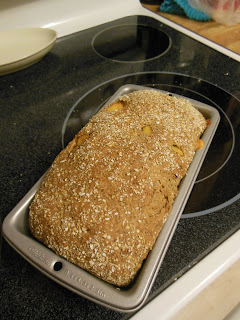 Savory Cheese and Onion Whole Grain Bread.