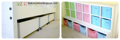 diy underbed storage bins and cubbies