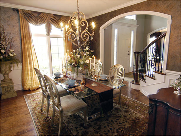 Romantic dining room design ideas room design ideas for Dining room ideas 2014