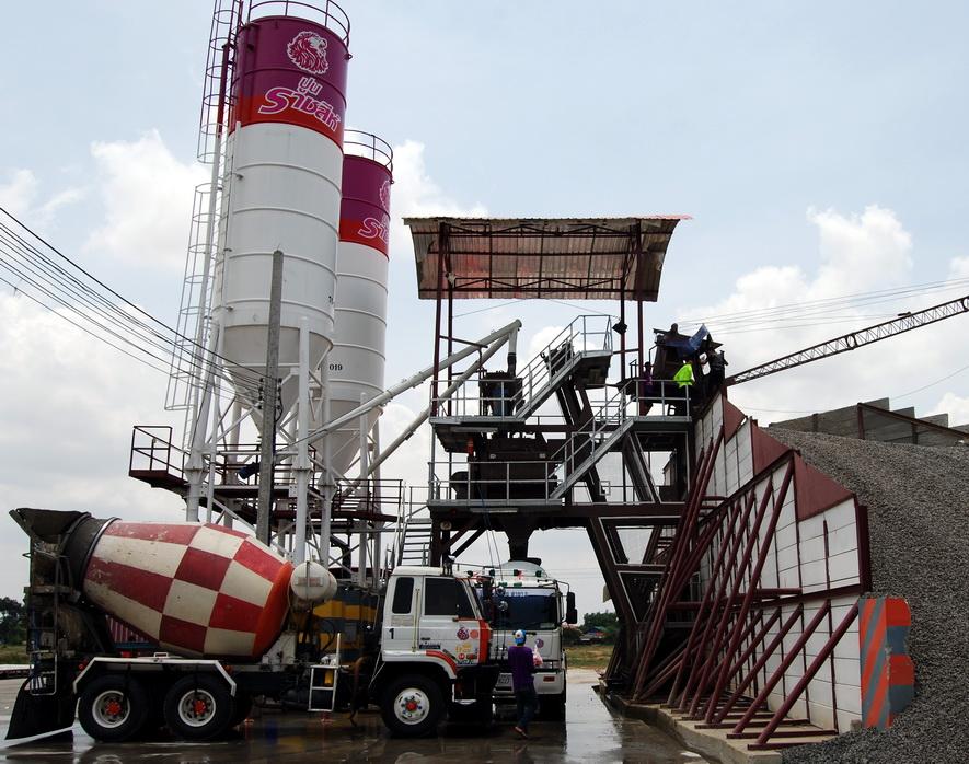 Mitsubishi Cement Plant : Buriram house builder june