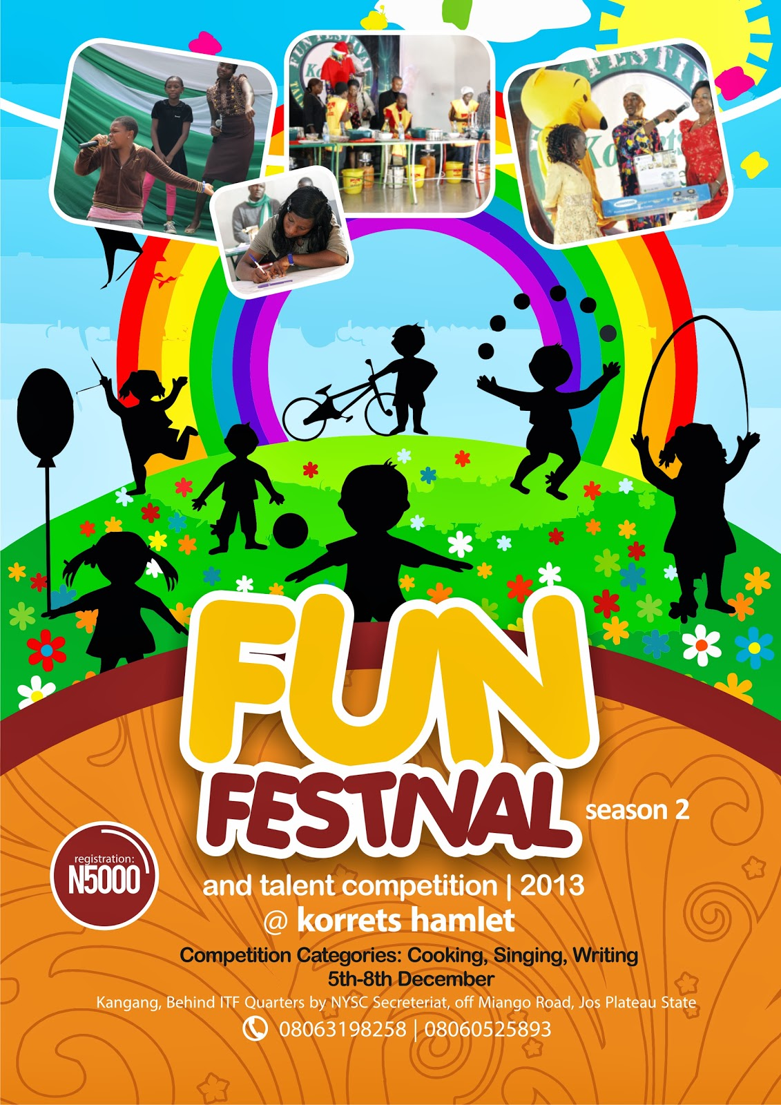 swagg news africa kiddies fun festival and talent competition 2013 hosted by korrets. Black Bedroom Furniture Sets. Home Design Ideas