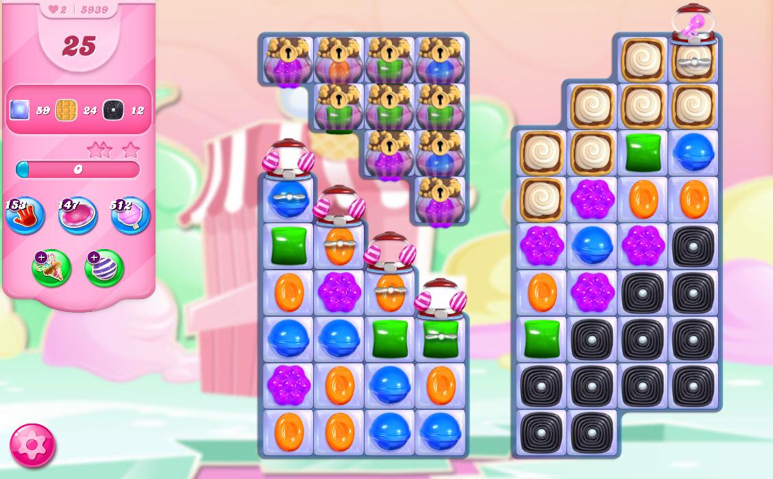 Candy Crush Saga level 5939