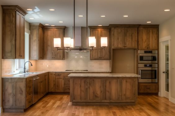 image result for alder wood cabinetry beautiful rustic kitchen