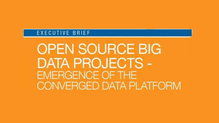 Open Source Big Data Projects - Emergence of the Converged Data Platform