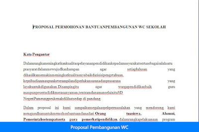 Proposal Pembangunan WC