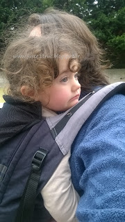 Love Radius porte-bébé JPMBB préformé Physiocarrier randonnée été sport aéré chaleur papa