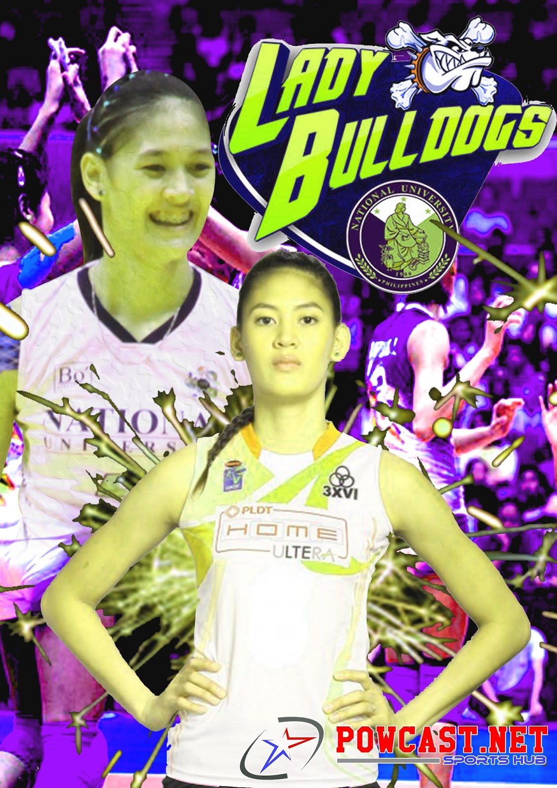 "Alyja Daphne ""Jaja"" Santiago: Volleyball Athlete of NU - Powcast.net"