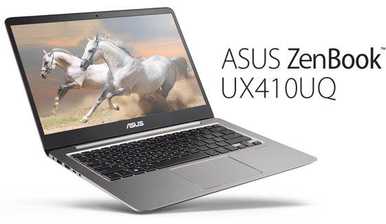 performa ASUS ZenBook UX410UQ