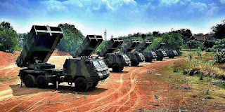 MLRS Yon Armed 1 Kostrad TNI AD