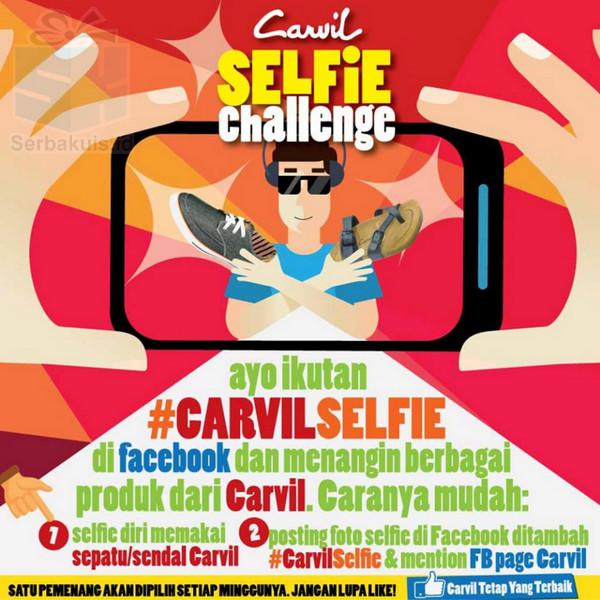 Kontes Carvil Selfie Berhadiah 1 Produk Setiap Minggunya