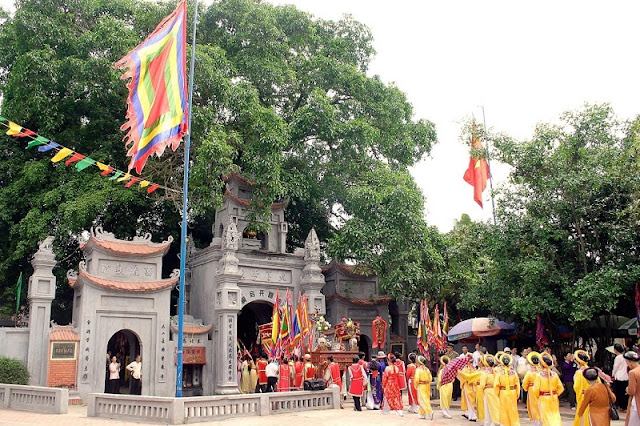 10 interesting festivals on the first lunar month in the north of Vietnam 1