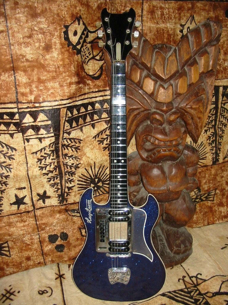 The Unique Guitar Blog: Vintage Hagstrom Guitars - 1958 to 1967 on