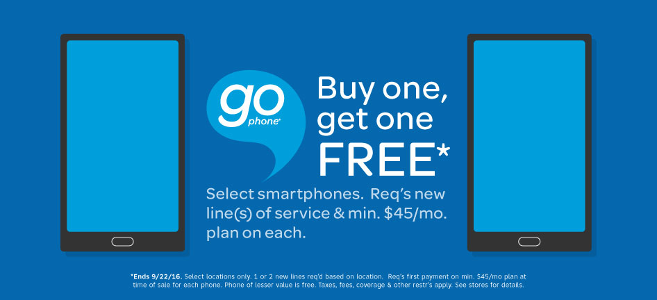 Buy One Gophone Get One Free Starting This Friday