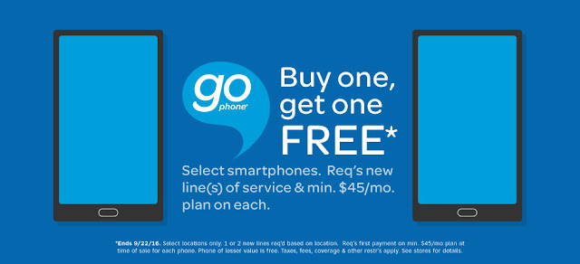 GoPhone BOGO Offer