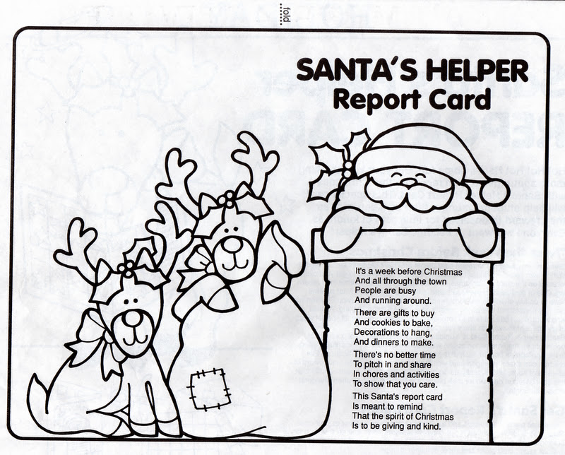 ELEMENTARY SCHOOL ENRICHMENT ACTIVITIES: SANTA'S HELPERS