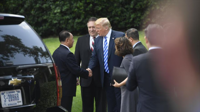 Trump está molesto por reunión entre Lavrov y Kim Jong-un