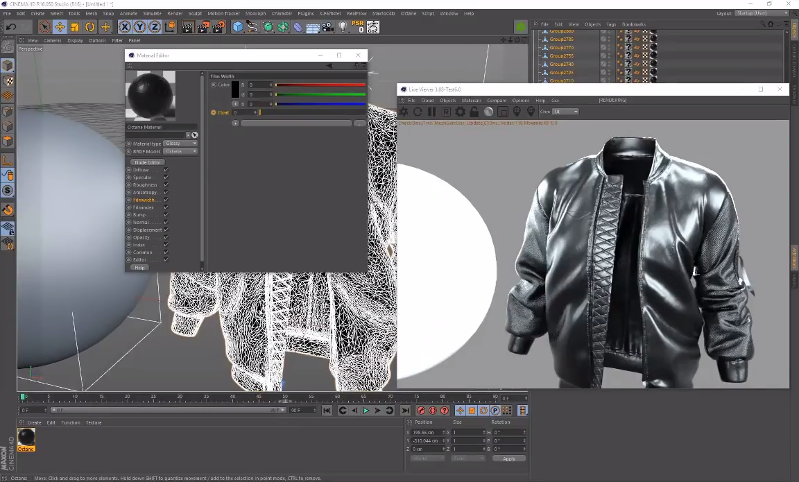Creating Oil-Slick Materials with Octane for Cinema 4D   CG