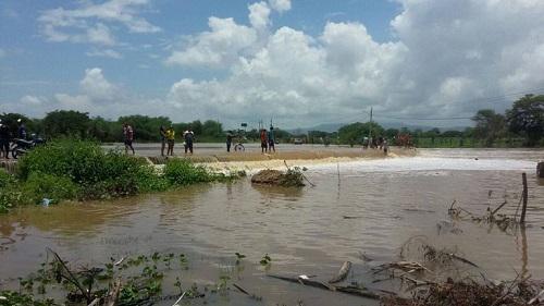 Barragem do Rosário, em Milagres,