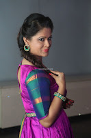 Shilpa Chakravarthy in Purple tight Ethnic Dress ~  Exclusive Celebrities Galleries 012.JPG