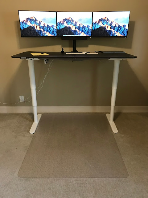 tech notes ikea bekant sit stand desk 2016 update. Black Bedroom Furniture Sets. Home Design Ideas