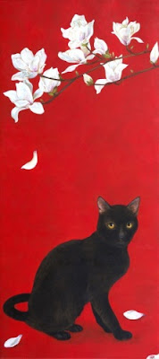 minako-ota-pisica-neagra-si-magnolie