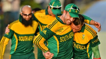 AB Devilliers with steyn