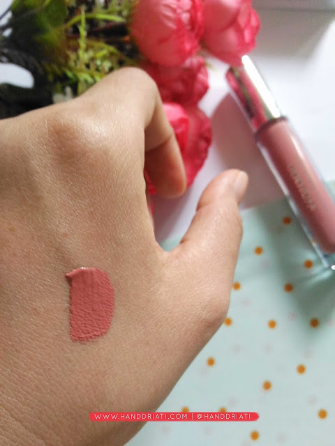 Review Exclusive Matte Lip Cream Wardah : 03 See You Latte