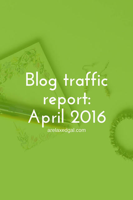 April 2016 blog traffic report. | arelaxedgal.com