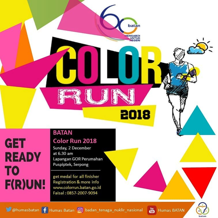 Batan Color Run • 2018