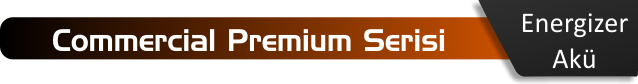 Energizer akü commercial premium serisi akü fiyatları