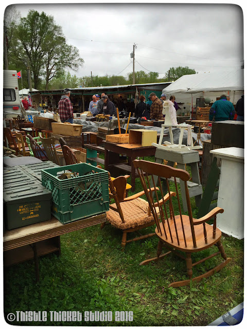 Sparks Antique Flea Market on Thistle Thicket Studio. www.thistlethicketstudio.com